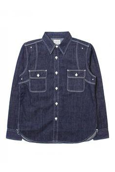 Pherrows 770WS B.denim shirt