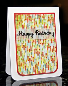 WaterDots: Happy Birthday, CSC136 Masculine