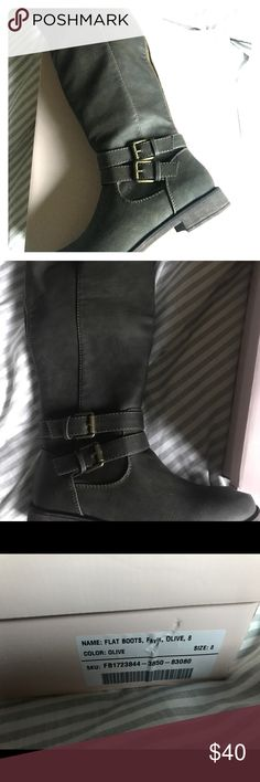 Women's boots Brand new in box!! Only took out to try them on! JustFab Shoes Heeled Boots