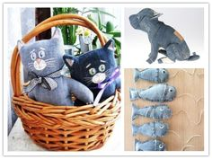 Craft Ideas To Do With Old Jeans | DIY Tag