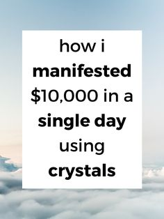 You can attract prosperity using gemstones and crystals. Today, I'm sharing with you the best crystals to use to attract wealth, and telling you which ones helped me attract over $10,000 in one day. #crystals #wicca #gemstones #healingstones #stones #spitituality Crystals For Wealth, Masculine Energy, Lucky Stone, Financial Success, Willpower, New Opportunities, Health Advice, Starting A Business, Read More