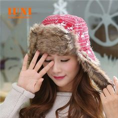 2014women warm fashion wool Lei feng hat Ear protection cap outdoor warm hat for gilrs elastic beanie cap woman accessories