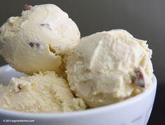 Coconut Pecan Paleo Ice Cream (Gluten and Dairy Free) - Free Paleo Recipes and More. Get the recipe at BigChinKitchen.com