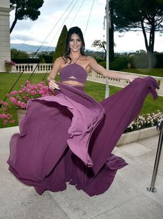 Kendall Jenner in Calvin Klein Collection at the Cannes 2015 AmFAR gala