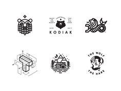 LogoLounge 11 Selects by Peter Komierowski on Dribbble Lounge Logo, Peter K, 7 Logo, Restaurant Branding, Monogram Logo, Show And Tell, Logo Inspiration, Icon Design, Design Elements