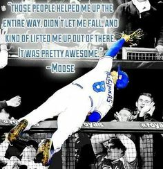 And he is awesome!!! Go Royals!!!