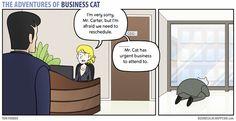The Adventures of Business Cat Comic Strip, November 14, 2016     on GoComics.com