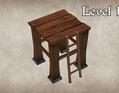 Wood Tower Lvl 1 3D Model