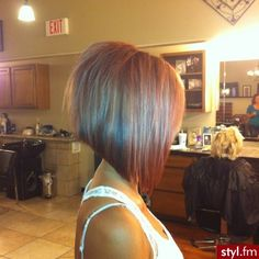 Don't you just love asymmetric bob haircuts???