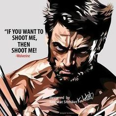 Image is loading wolverine-x-men-canvas-quotes-wall-decals-photo-