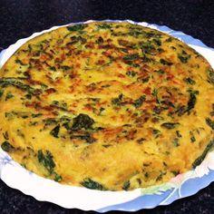 Tortilla de espinacas (V)