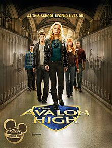 Avalon High - Meg Cabot  Movie with Britt Robertson & Gregg Sulkin    Print Win. That Arthur is a girl is cool, but is against everything that is the book! The travesty!