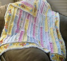 Rag Quilt - Done in Strips | Sewing