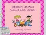 Singapore Math Video Tutorial for Model Drawing!  It's free people!