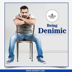 Be #Denimic. Create, Explore and never become stagnant.  Shop now: http://qoo.ly/f2cuq  #TuesdayThoughts #Denim #Goswhit
