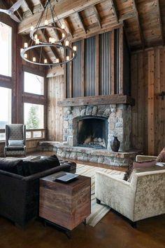 Small Log Cabin Interior Design