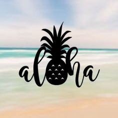 Hey, I found this really awesome Etsy listing at https://www.etsy.com/listing/271089029/aloha-pineapple-sticker-hawaii-sticker