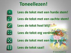 Veel kinderen vinden toneelteksten leuk. Maak daar gebruik van. Laat in tweetallen oefenen om hun stem op verschillende manieren te gebruiken. Je reinste leestechniek natuurlijk, maar zo voelt het niet voor kinderen. Voor de échte leespromotie zorg je natuurlijk voor wat toneelleesboeken in de klas. http://www.zwijsenouders.nl/web/file?uuid=a2b5590f-8f28-44ac-af74-6f644853dcaf&owner=a73e43cf-999f-4aac-8a5a-6a4d2e6268ca
