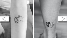 Tiny Kitten Tattoos That Are Just SO Cute