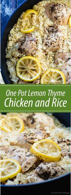 One Pot Lemon Thyme