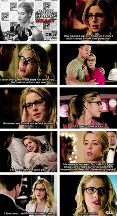 Oliver is her heart <3 #Olicity #Arrow
