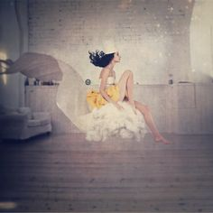 sitting on a cloud / Anka Zhuravleva