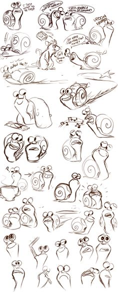 Turbo Sketches by sharkie19 on DeviantArt