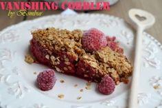 Vanishing cobbler by Bombur (cobbler cu zmeura) - Retete culinare by Teo's Kitchen Krispie Treats, Rice Krispies, Marshmallows, Cobbler, The Hobbit, Cereal, Breakfast, Desserts, Food