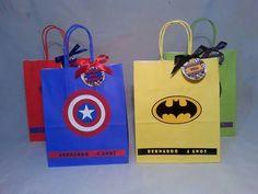 Comics theme goodie bags