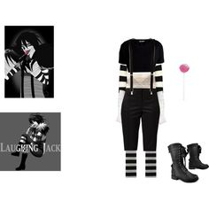 Laughing Jack-Creepypasta by msgeeky on Polyvore