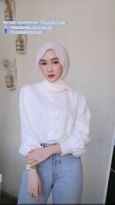 Modest Fashion Hijab, Modern Hijab Fashion, Casual Hijab Outfit, Hijab Fashion Inspiration, Ootd Hijab, Muslim Fashion, Modest Outfits, Fashion Outfits, Shops