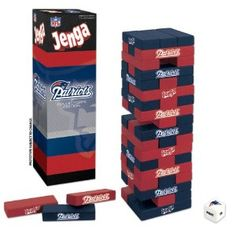 Jenga NFL - New England Patriots