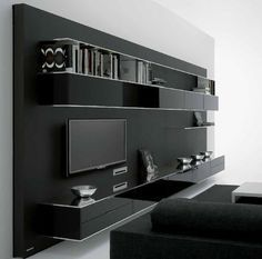 ) on ArchiExpo, the architecture and design specialist for your professional purchases. Tv Cabinet Design, Tv Wall Design, Tv Unit Design, House Design, Living Room Wall Units, Living Room Modern, Living Room Designs, Wall Unit Designs, Modern Tv Wall Units