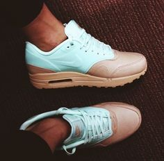 Mint and Chocolate Nike Air Max