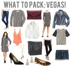 What to pack: vegas! ⓢ travel style & packing caps Las Vegas Outfit, Vegas Attire, Vacation Outfits, Mom Outfits, Spring Outfits, Vegas Style, Vegas Packing, Weekend Packing, Las Vegas Vacation