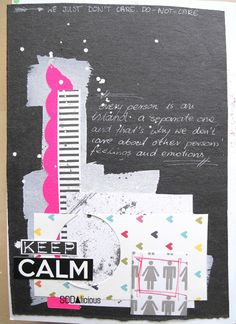 made by Marysza ► SODAlicious art journal challenge No34