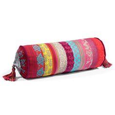 Cuscino lungo in tessuto 15 x 40 cm ZANGORA