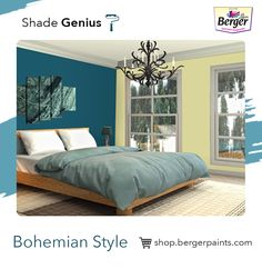 Bohemian or Boho decorating is for those who want their room's colour full of life, culture, and interesting items for the world to see. Combining and layering colours is what makes this style unique