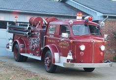 This 1954 American LaFrance Type 700 fire engine formerly served the City of Crossett (AR),   and is now privately owned.