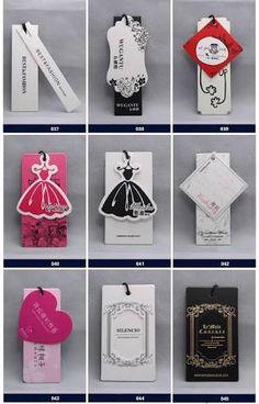 Resultado de imagen para etiquetas colgantes para ropa