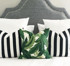 Indoor / Outdoor Decorative Pillow Cover,Available In All Sizes, Decorative Pillow Covers, Throw Pillow,Pillows Tropical Furniture, Tropical Home Decor, Tropical Houses, Tropical Interior, Modern Tropical, Tommy Bahama, Indoor Outdoor, Bed Scarf, Tissue Paper Flowers