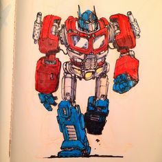 Nuthin' But Mech: Jake Parker Sketchbook Dump