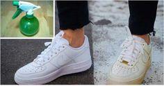Voici des astuces très simples pour nettoyer vos chaussures blanches à la maison et les rendre comme neuves...