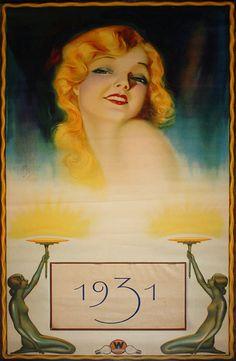 1931 Art Deco Westinghouse poster by E. Dahl
