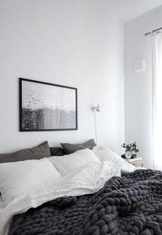 Rainy Day print in my bedroom + MY SHOP