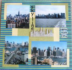 New York City Skyline - Scrapbook.com