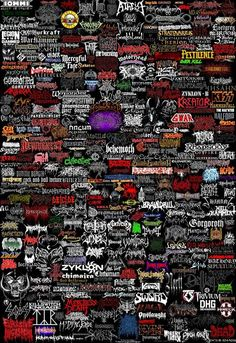 Logos of metal bands Here you can find complete list of metal bands. Here are logos of metal bands that you can find on this site. All band logos are in high resolution 1600x1200px. Enjoy. Slayer, ...