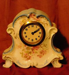 Hey, I found this really awesome Etsy listing at https://www.etsy.com/listing/161312741/hand-painted-german-bedroom-clock