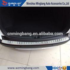 Stainless Steel Rear Bumper Foot Plate For Honda Vezel/Hrv 2014 Car Accessories