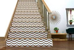 Chevron Your Stairs